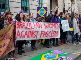 Protest against fascism in Brazil [Wikipedia]